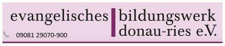 Button zur Homepage des Evangelischen Bildungswerkes Donau-Ries