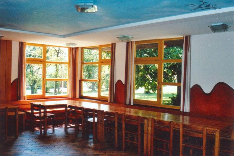 Speisesaal Jugendtagungshaus Schopflohe