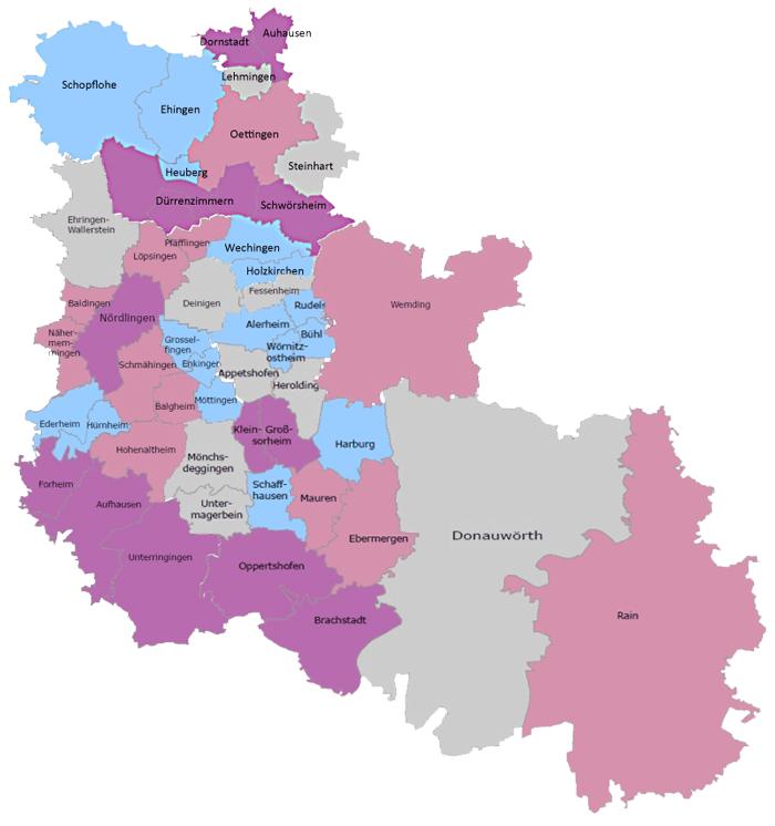 Karte Dona-Ries